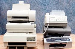 Drucker verwenden unterschiedliche Druckköpfe.