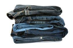 Levis Jeans gibt es in vielen Waschungen.