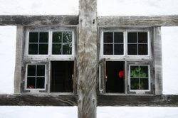 Alte Fenster können restauriert werden.