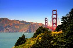 Wahrzeichen: Die Golden Gate Bridge