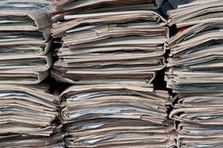 Alte Zeitungen lassen sich gut verkaufen!
