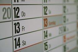 Gestalten Sie sich von nun an einen farbenfrohen Kalender mit PowerPoint.
