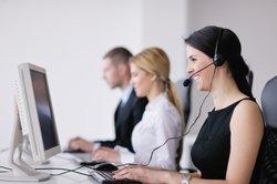 Die Arbeit in einem Call-Center ist nicht immer leicht.