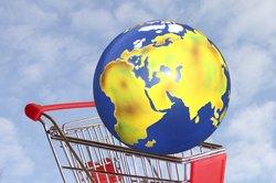Das Internet macht weltweites Einkaufen möglich.
