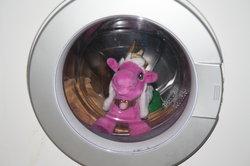 Manchmal muss die Waschmaschine kurzzeitig gestoppt werden.