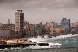 Eine kubanische Großstadt.