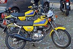 Ein schickes Bike von Honda.