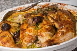 Der Duft provenzalischer Aromen steigert die Vorfreude auf's Essen.