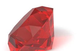 Große Rubine ohne Einschlüsse kosten ein Vermögen