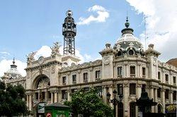 Das schöne Postgebäude in Valencia