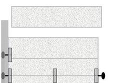 Schema eines Tores mit SPU-40-Segmenten