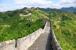 Die chinesische Mauer ist eines der Neuzeit-Weltwunder.