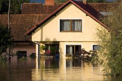 Das Bauen in einem Hochwassergebiet sollte gut überlegt sein.