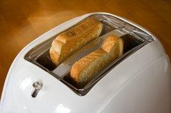 Das Toast-Icon sieht aus wie ein echter Toaster.