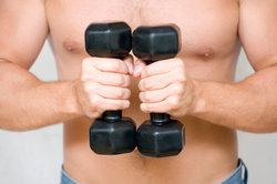 Muskeln sollten für die Sportbetätigung vorbereitet werden.