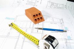 Vor Baubeginn muss Statik vom Fundament ermittelt werden.