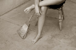 Vor allem beanspruchte Füße weisen häufig Hornhaut auf.