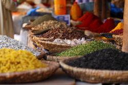Auch in Marokko wird das Gewürz gern verwendet!