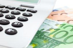Mit Taschenrechner können Sie Zahlungsbetrag ermitteln.