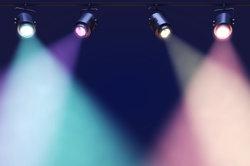 Lichter in verschiedenen Farben genießen
