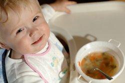 Auch Kinder lieben Suppen.