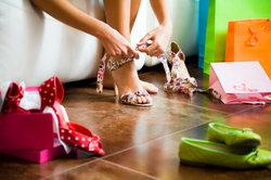 Die Auswahl der passenden Schuhe fällt nicht immer leicht.