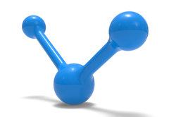Das Wassermolekül ist ein elektrischer Dipol.