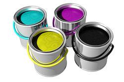 Acrylfarben können Sie selber zusammen mischen.
