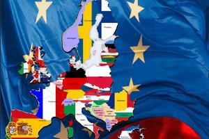 Nicht jeder Staat Europas ist EU-Mitglied.