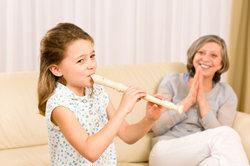 Mit der Altblockflöte Lieder spielen