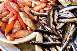 Besonders im Fisch steckt viel Eiweiß.