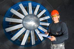Windkanäle werden für wissenschaftliche Zwecke eingesetzt.