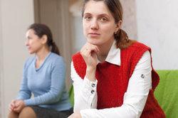 Einen Streit mit der Mutter kann man sachlich beilegen.
