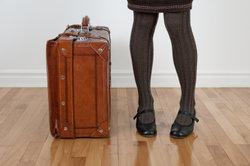 Auch Gepäck lässt sich in einem Dachträger transportieren.