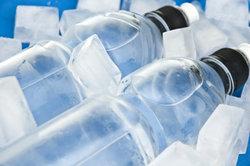 Kühlen Sie Ihr Mineralwasser besser nicht im Gefrierfach.