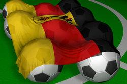 Der Fußball und andere Sportarten hatte es zunächst schwer in Deutschland.