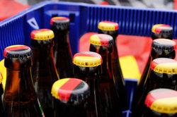 Echtes Bier darf auf der Party auch nicht fehlen.