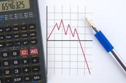 Auch negative Zahlen werden in den Durchschnittswert einbezogen.