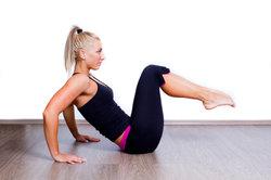 Leichte Übungen verbessern den Fitnesslevel.
