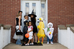 Auch an Halloween sind strafbare Handlungen keine Scherze mehr.