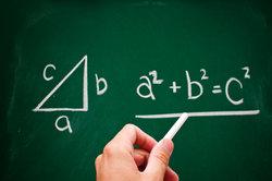 Der Satz des Pythagoras ist die Grundlage der Wurzelschnecke.