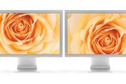Ihr Desktop lässt sich einfach auf zwei Bildschirme strecken.