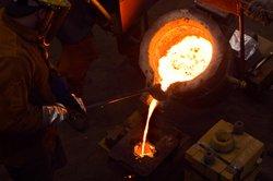 Die Herstellung von Eisen