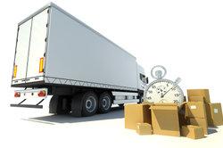 Pakete werden in ein Paketzentrum geliefert, wenn Sie nicht erreichbar waren.
