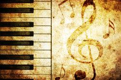 Klaviere kommen bei Kunstliedern häufig als Begleitinstrument zum Einsatz.