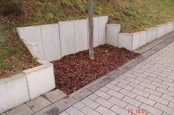 L-Steine ermöglichen vielfältige Außenbereichsgestaltung.