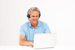 Mit Skype können Sie kostenlos mit anderen Nutzern telefonieren.