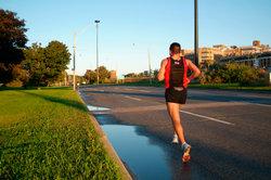 Endorphine können ein Runner's High bewirken.