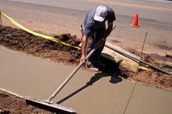Zuviel Überkorn oder Unterkorn kann die Betonqualität mindern.