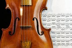 Auch klassische Musik kann natürlich visualisiert werden.